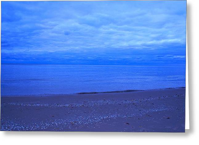 Greeting Card featuring the photograph Lake Michigan by Kristine Bogdanovich