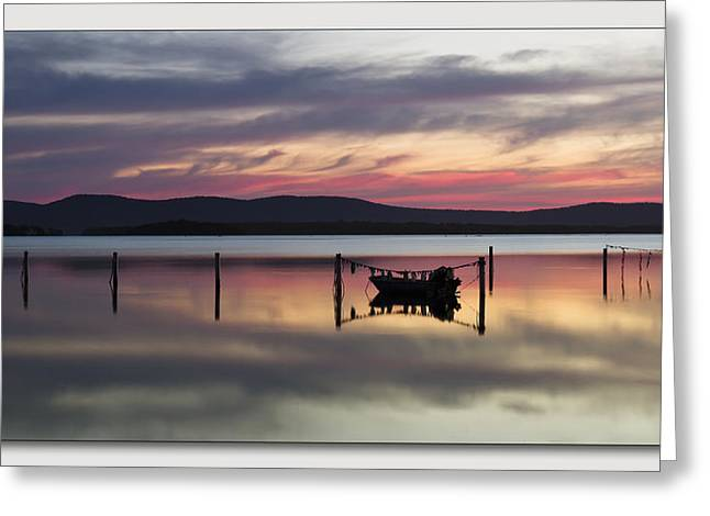 Greeting Card featuring the digital art Lake Rgb 01 by Kevin Chippindall