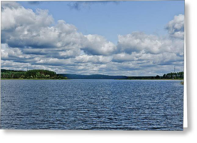 Lake Seliger Greeting Card