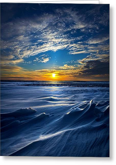 Lake Solitude Greeting Card by Phil Koch