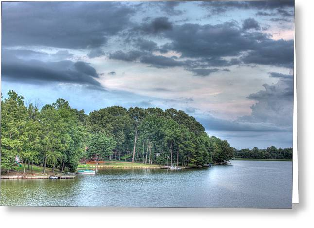 Lakeside 2 Greeting Card by Barry Jones