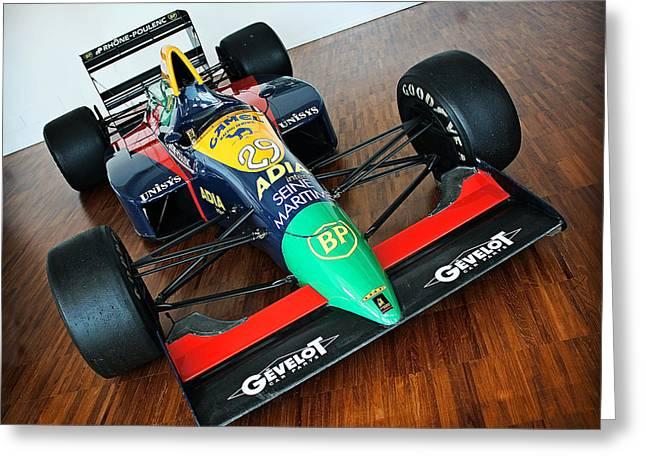 Lamborghini Formula One Greeting Card by Graham Parry