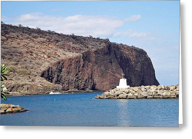 Lanai Harbor Greeting Card
