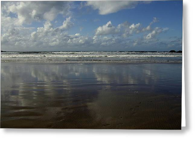Greeting Card featuring the photograph Land Sea Sky by Lynn Hughes