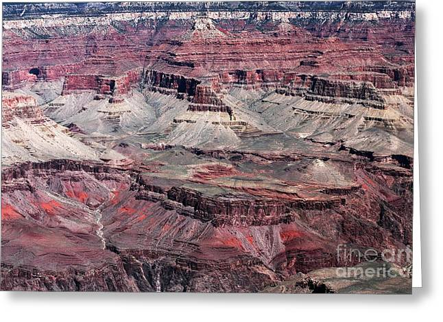 Landing In The Canyon Greeting Card by John Rizzuto