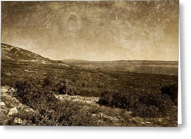 Landscape 2 Greeting Card by Maciej Kamuda