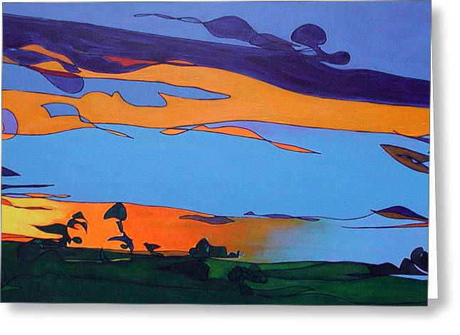 Landscape 283 Greeting Card