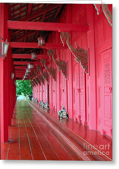 Langkawi Summer Palace Greeting Card by Graham Taylor