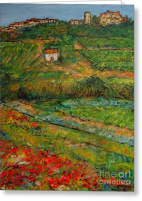 Languedoc Memories 2 Greeting Card by Jackie Sherwood