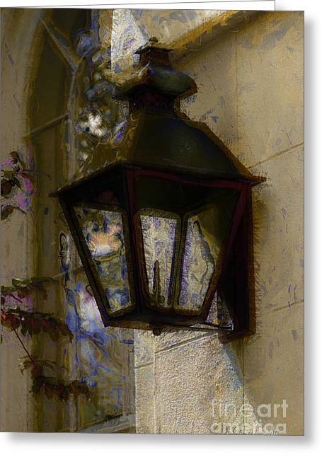 Lantern 11 Greeting Card by Donna Bentley