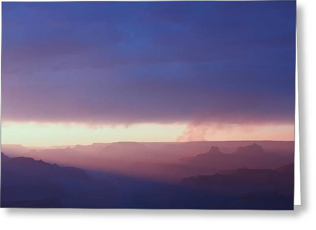 Last Light Of Day Greeting Card by Heidi Smith