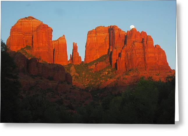 Last Light Greeting Card by Sandy Tracey