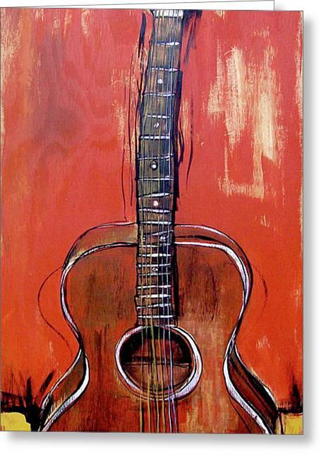 Laurelyn's Guitar Greeting Card