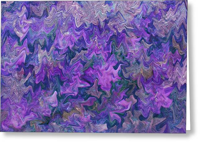 Lavender Water Greeting Card by Don Wright