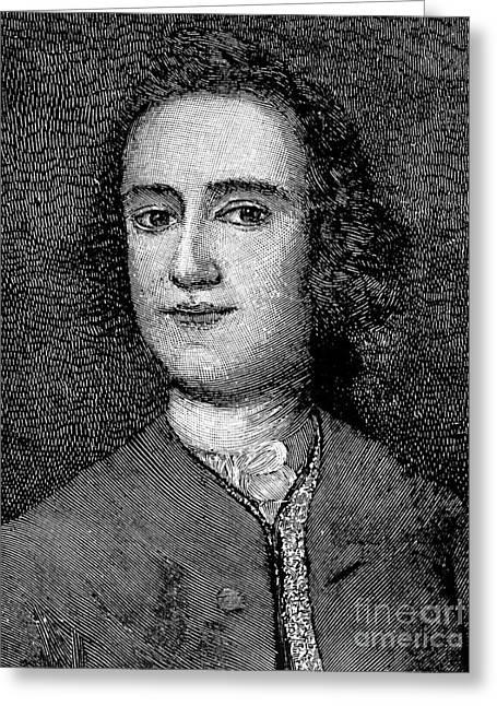 Lawrence Washington Greeting Card by Granger