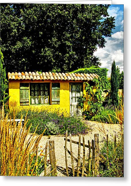 Le Jardin De Vincent Greeting Card by Chris Thaxter