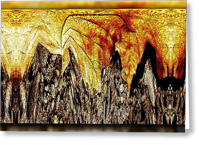 Leaf Meld Greeting Card by Tim Allen