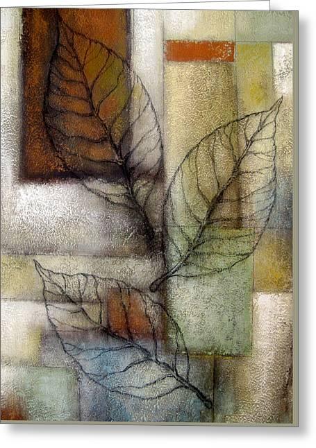 Leaf Whisper 2 Greeting Card by Leon Zernitsky