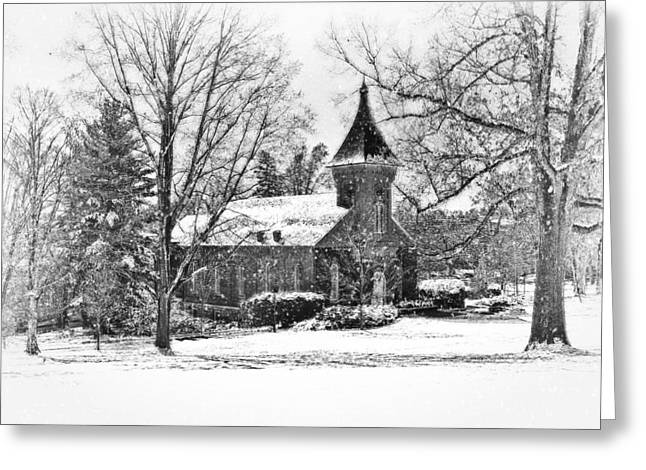 Lee Chapel February 2012 Series II Greeting Card by Kathy Jennings