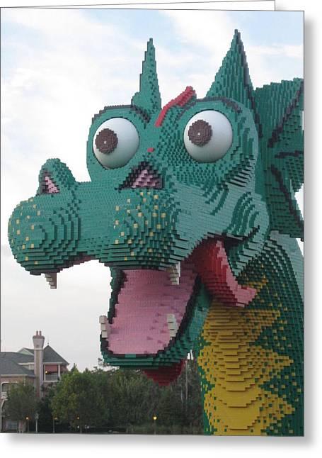 Lego Dragon Photograph By Sarah Hannush