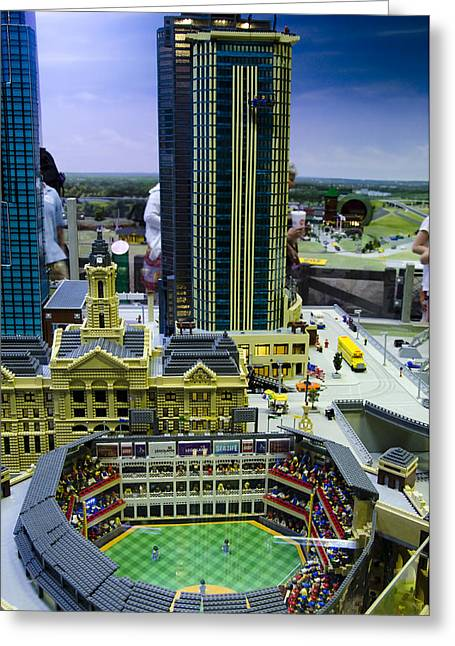 Legoland Dallas I Greeting Card by Ricky Barnard