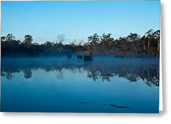 Lenthalls Dam 11 Greeting Card by David Barringhaus