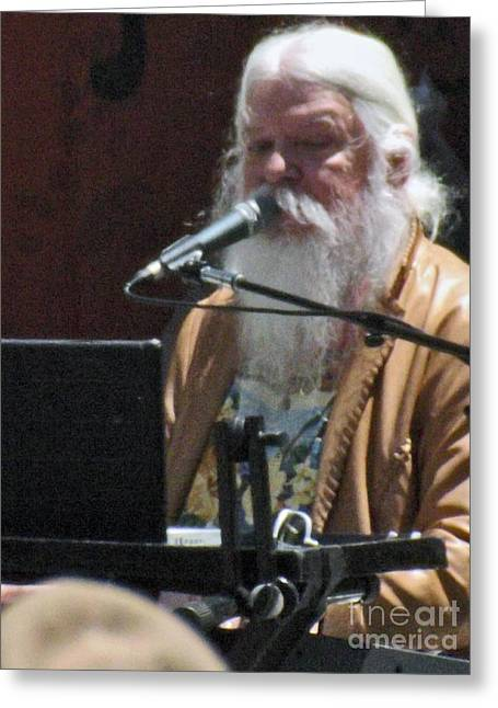 Leon Russell Greeting Card