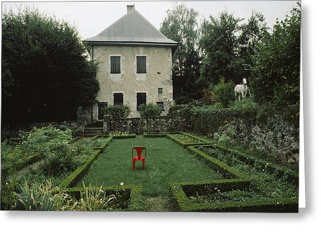 Les Charmettes, Home Of Philosopher Greeting Card