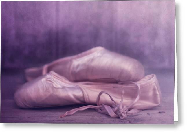 Les Chaussures De La Danseue Greeting Card