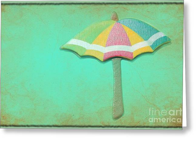 Let It Rain 1 Greeting Card by Sophie Vigneault