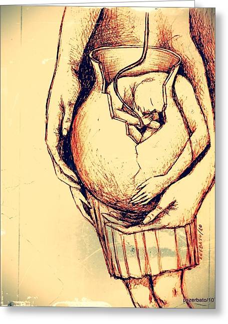 Lets Break Up And Be Reborn Greeting Card by Paulo Zerbato