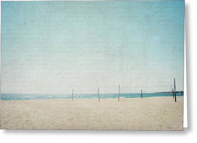 Greeting Card featuring the photograph Letters From The Beach by Lisa Parrish