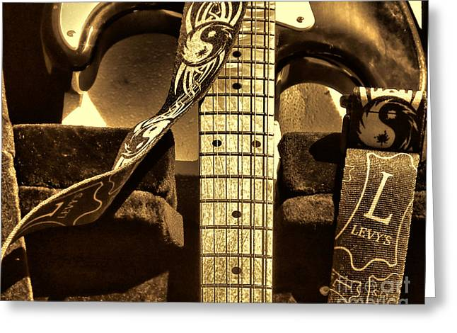 Levys Guitar I Greeting Card