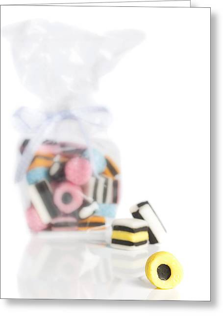 Licorice Sweets Greeting Card