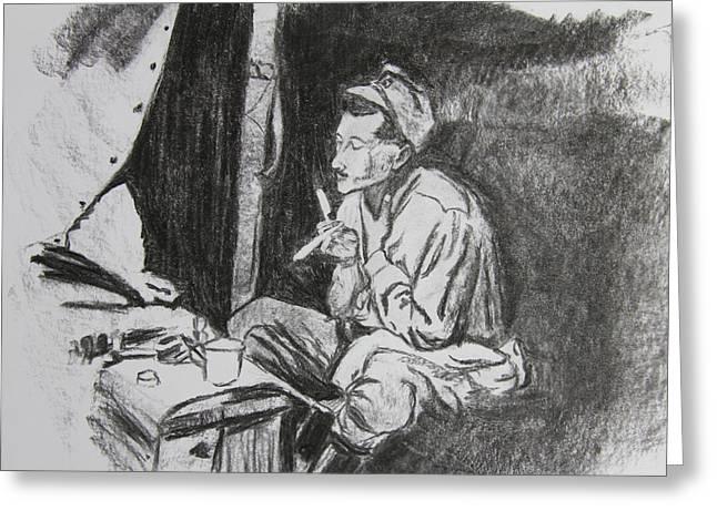 Life In Gallipoli Greeting Card