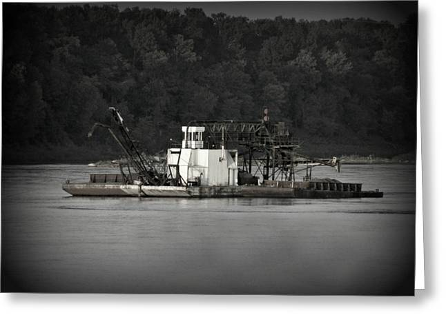 Life On The River Greeting Card by Patricia Erwin