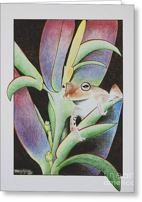 Life Out Loud Greeting Card by Tracy L Teeter