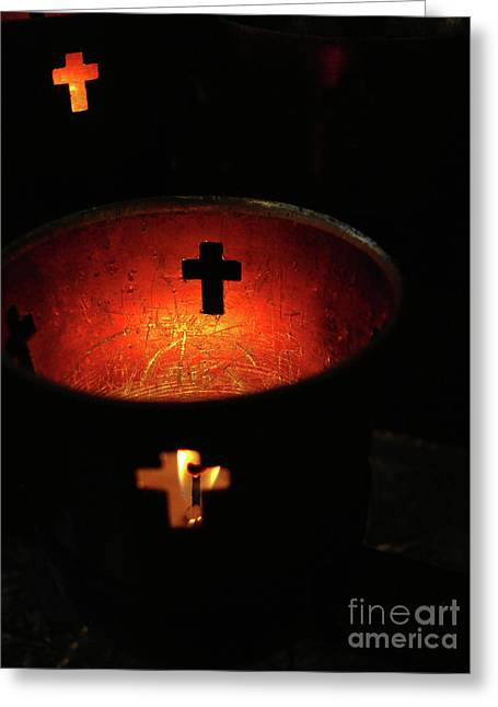 Light A Candle Greeting Card