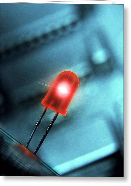 Light-emitting Diode Greeting Card by Richard Kail