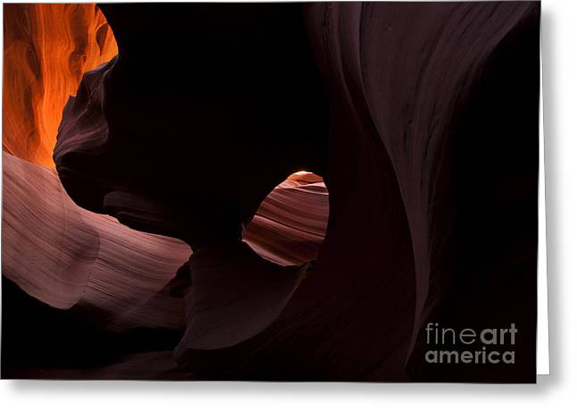 Light In The Eye Greeting Card by Mike  Dawson