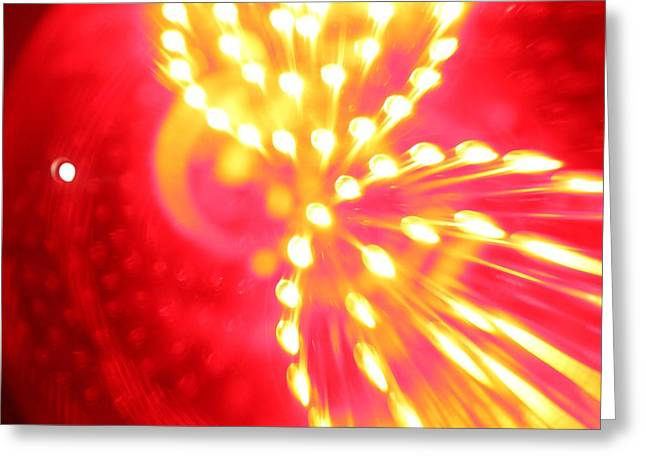 Light Machine Greeting Card by Will Czarnik