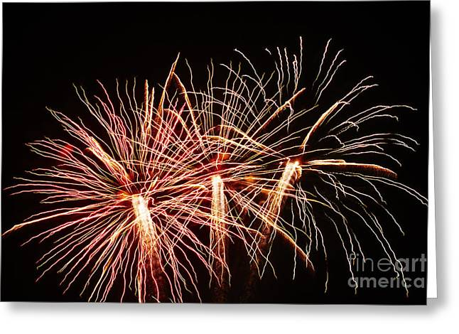 Light Painting Greeting Card by Agusti Pardo Rossello