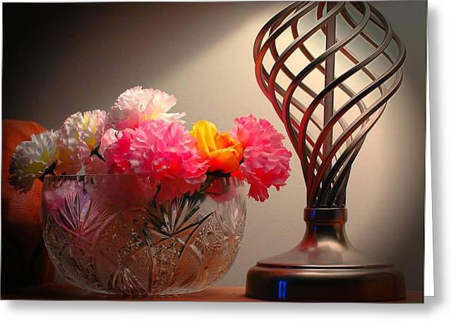Light Sculptor  Greeting Card by Ken Beatty