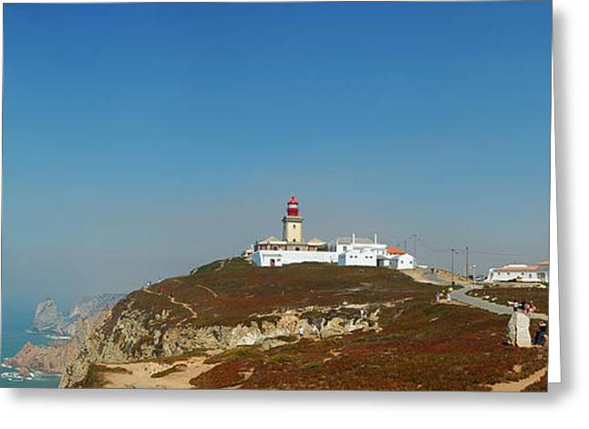 Lighthouse At Cabo Da Roca Greeting Card