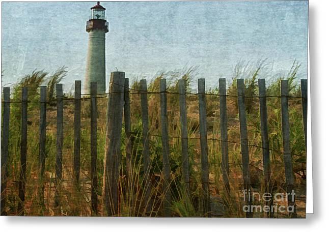 Lighthouse Greeting Card by Brian  Seidenfrau