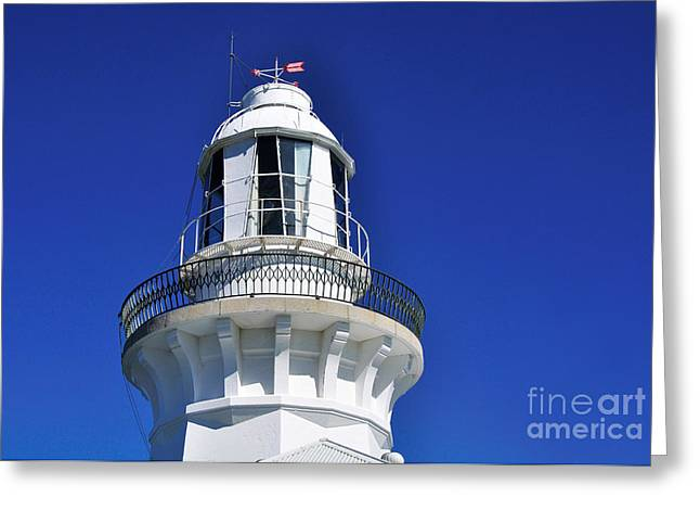 Lighthouse Turret Greeting Card