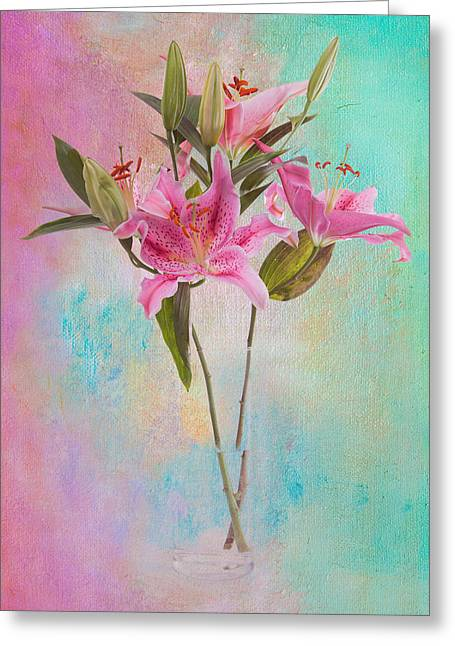 Lily 322a Greeting Card