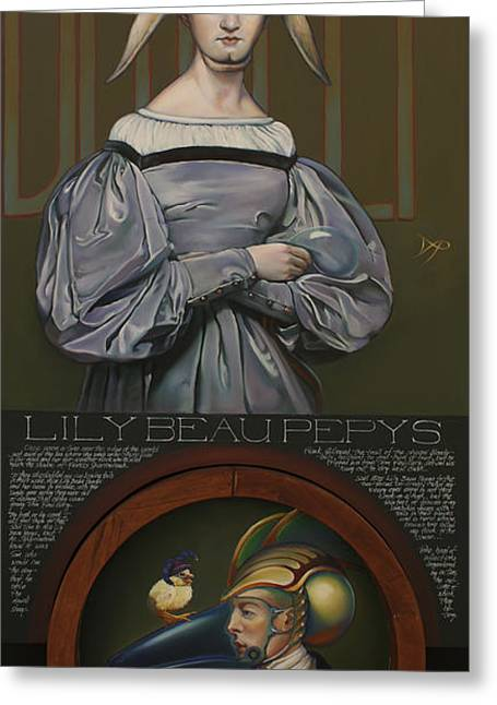 Lily Beau Pepys Greeting Card by Patrick Anthony Pierson