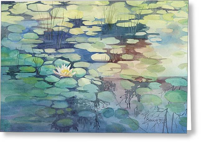Lily Pond I Greeting Card