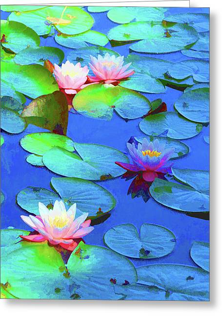 Lily Splendor Greeting Card